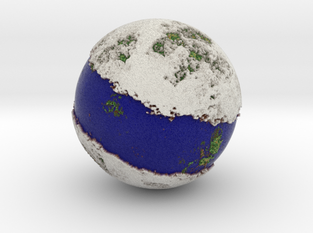 Planet 05 Blue in Full Color Sandstone