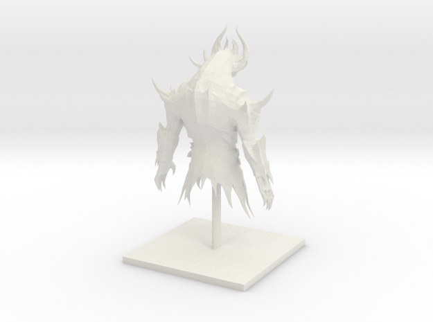 guildwars 2 model in White Natural Versatile Plastic