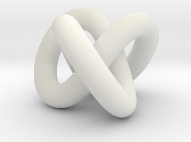 knot in White Natural Versatile Plastic