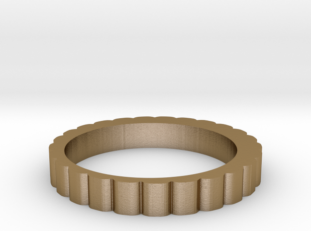 QQ Hair Ring 3d printed