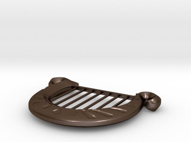 Goddess's Harp Pendant 3d printed