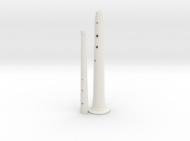 Tenor(+8) shawm 3d printed