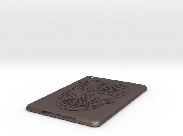 iPad mini Skull Case 3d printed