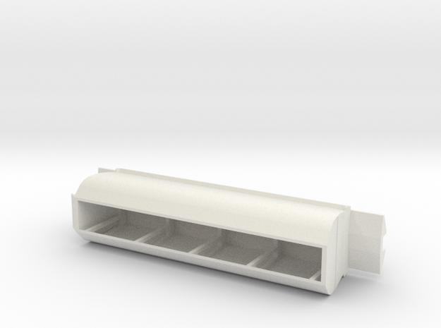 CE Coal Wagon, New Zealand, (NZ120 / TT, 1:120) in White Natural Versatile Plastic