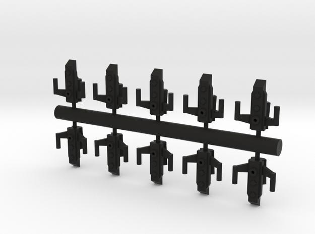 10 Reptilian assault craft 3d printed