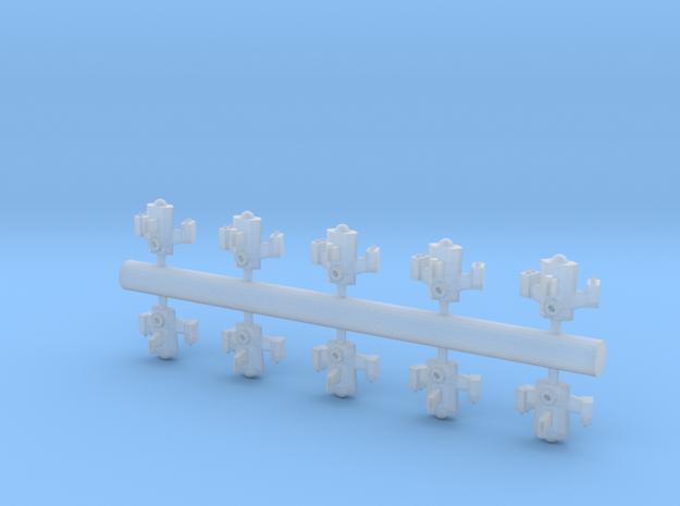 10 Reptilian interceptors 3d printed