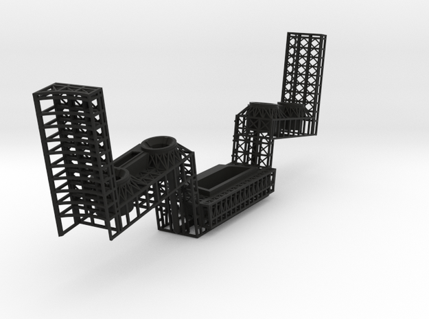 stern back 3d printed