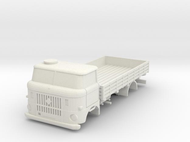 W50 (1/72 scale) in White Natural Versatile Plastic