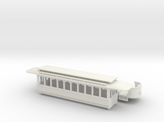 Wien Typ T umgebaut als Zweiachser in White Strong & Flexible