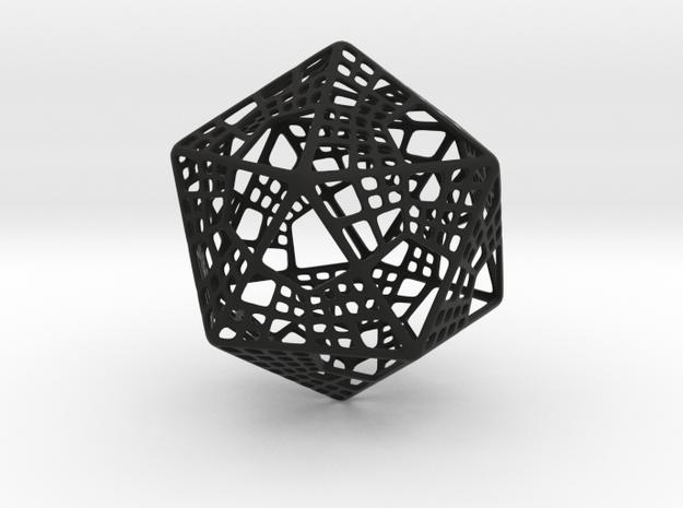 Like Fractal Subdivided Icosahedron 3d printed