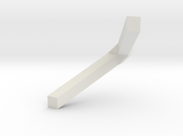 v shape 3d printed