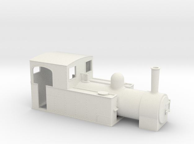 On16.5 W&L loco 3d printed