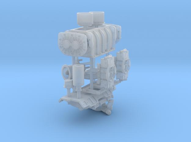 1/16 BBC GMC Blower System 3d printed