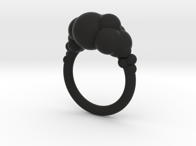 Cloud Ring size 8 3d printed