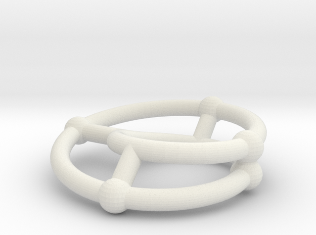 moebius ring | scaled line 24x4 3d printed