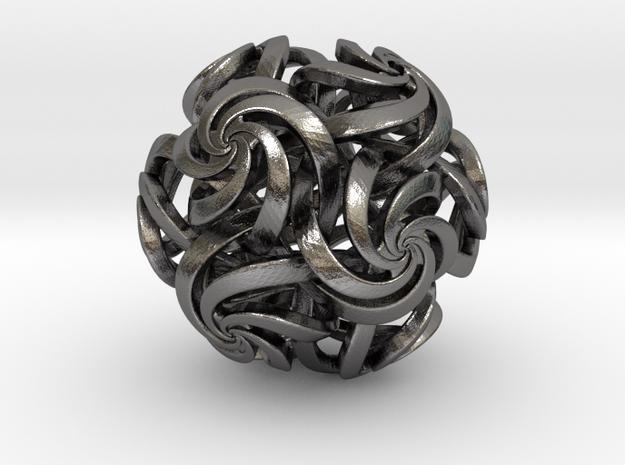 Rhombic triacontahedron IV, pendant