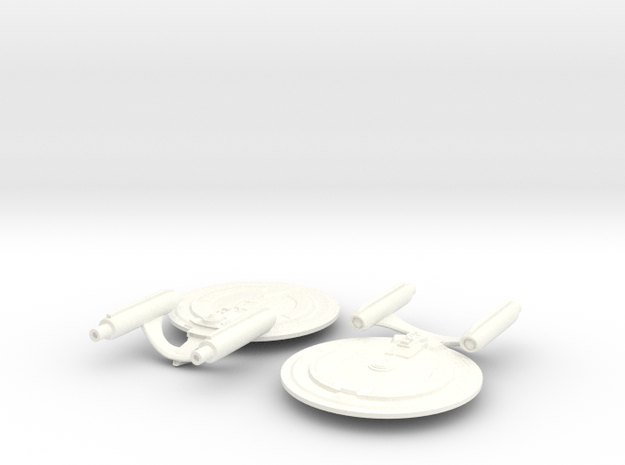 Paladin Class (Refit) in White Processed Versatile Plastic