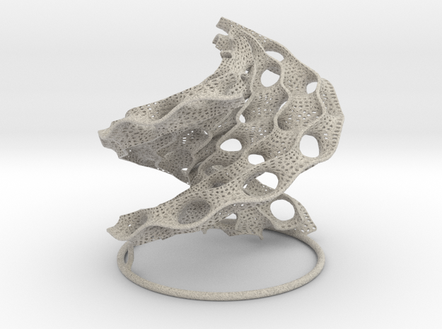 Helicoidal Scherk 3d printed