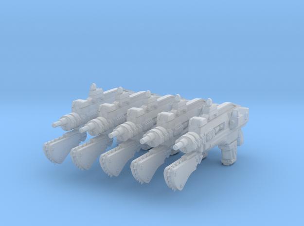 advanced laser rifle 002a chain 3d printed