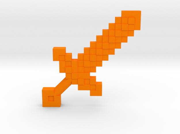 Mine Sword 3d printed