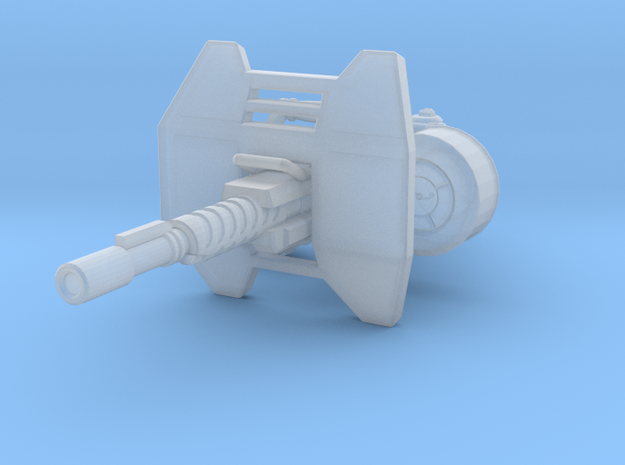 advanced gyrojet heavy 001a carried with sheild an 3d printed