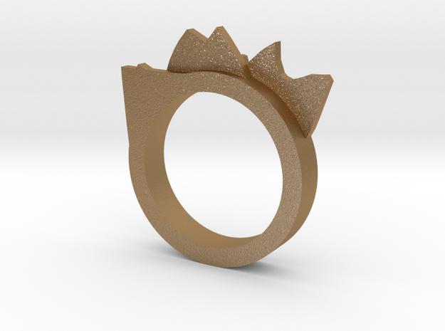 Mountain Range Ring ~ Size 7 3d printed