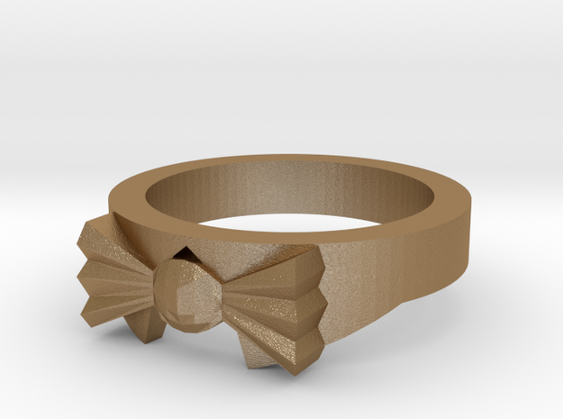 Dress Shirt and Bowtie Ring ~ Size 12 3d printed