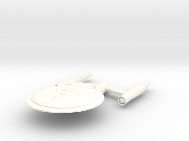 USS Concord (Refit) in White Processed Versatile Plastic