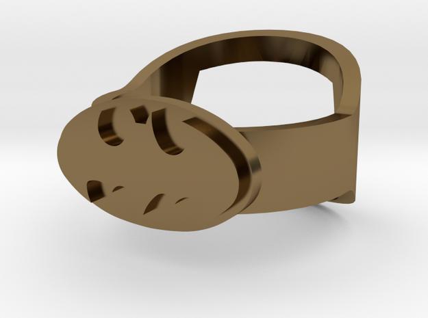 Batman Ring - Bottle Opener band or regular 3d printed