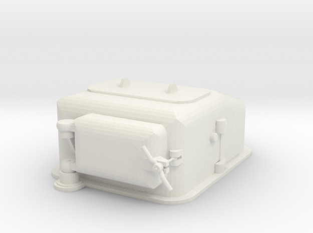 1/72 scale Type II Ammunition Lift  in White Strong & Flexible