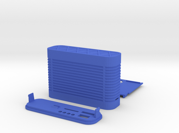 GPS logger case 3d printed