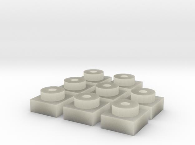 Placa 1 (x8) 3d printed