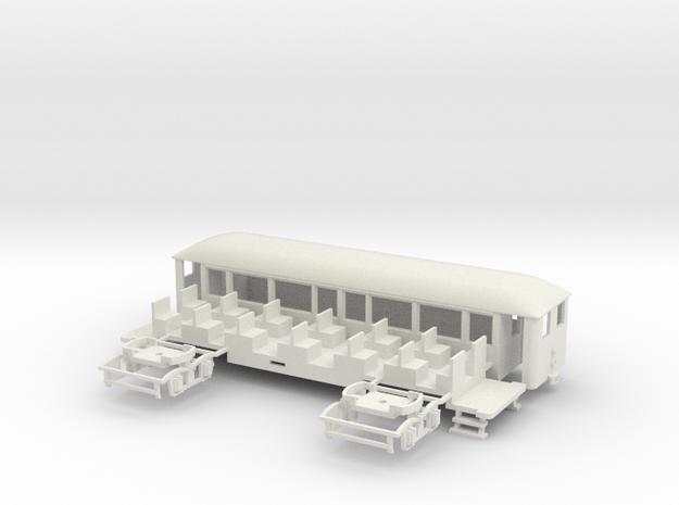 OEG geschl. Dampfbahnbeiwagen kl. Stirnfenster 3d printed