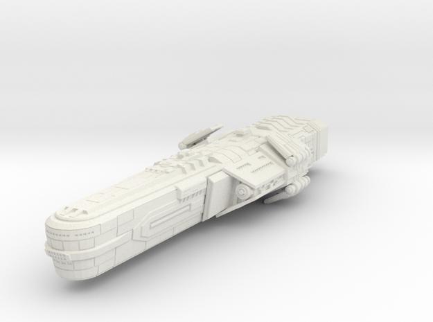 Bothan Battleship small model in White Strong & Flexible