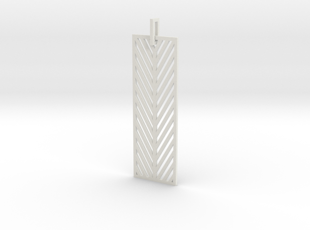 Earring by TO in White Natural Versatile Plastic