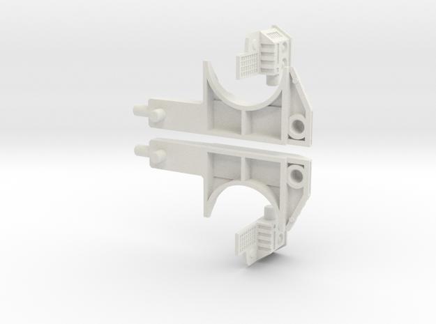 Echo Herc Kit V5  Lats Only in White Natural Versatile Plastic