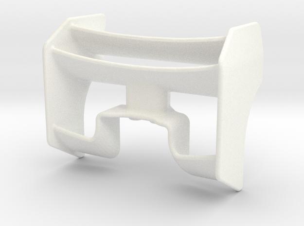 F1 REAR WING 1 in White Processed Versatile Plastic