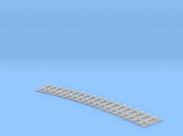Curved Track / Gebogenes Gleis 1/285 in Smooth Fine Detail Plastic