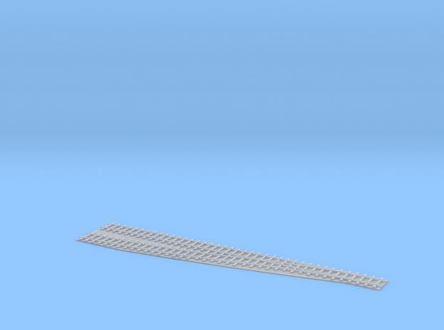 Single Switch L / Einfache Weiche L 1/285 in Smooth Fine Detail Plastic