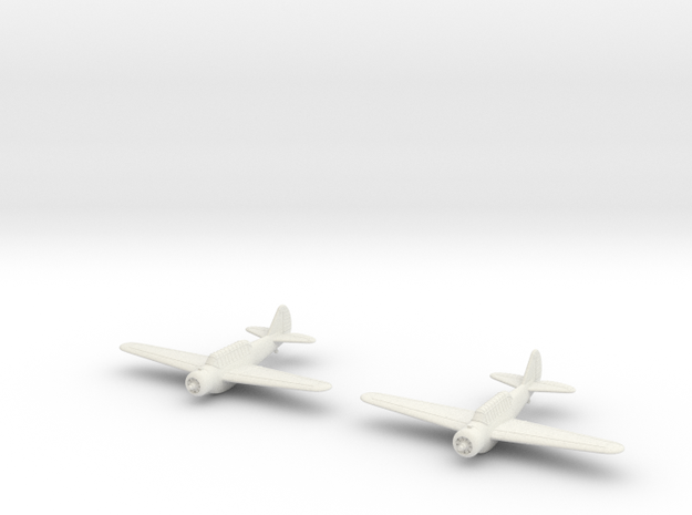 1/200 North American O-47 (x2) in White Strong & Flexible