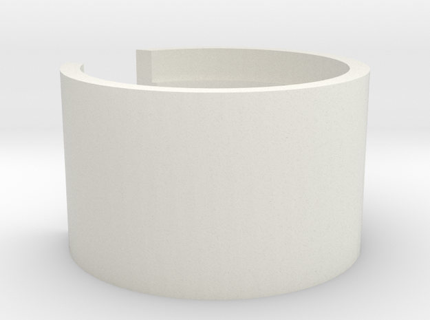 Railmaster Speaker Mount in White Natural Versatile Plastic