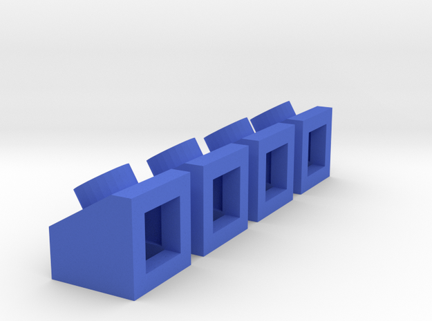 1x1 angled slope with peg 3d printed