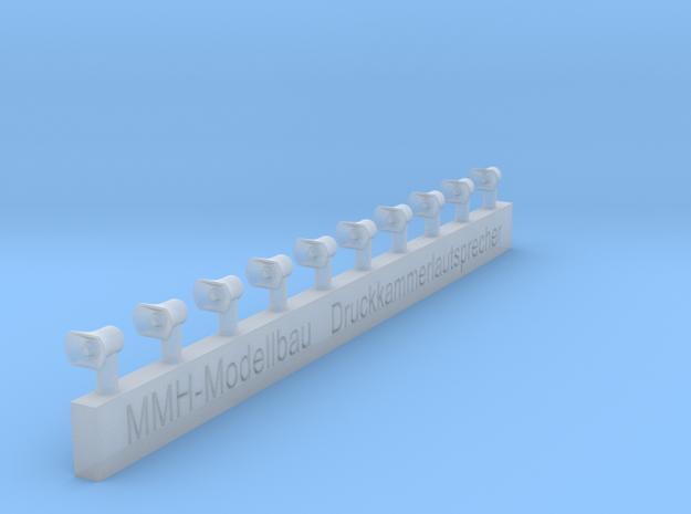 Druckkammerlautsprecher klein für Düsseldorfer LF, in Smooth Fine Detail Plastic