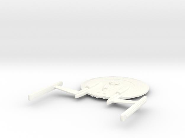 USS Safeguard in White Processed Versatile Plastic