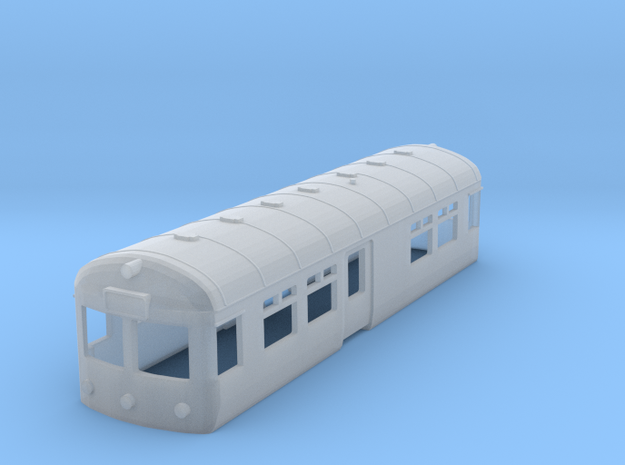 British Railways Wickham Railbus Body (N Gauge)