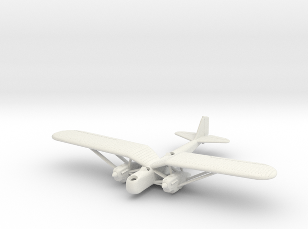 1/200 Douglas B-7 in White Strong & Flexible