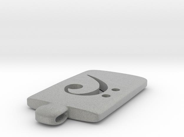 Clau de fa (rodoneta) 3d printed