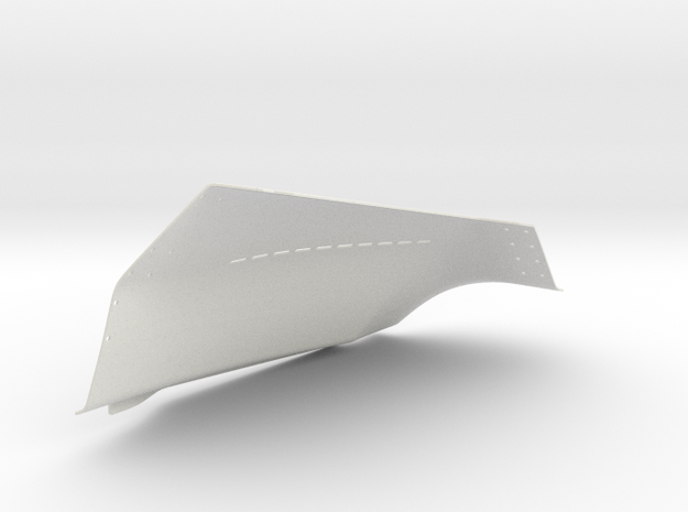 f-16 shield1 in White Natural Versatile Plastic