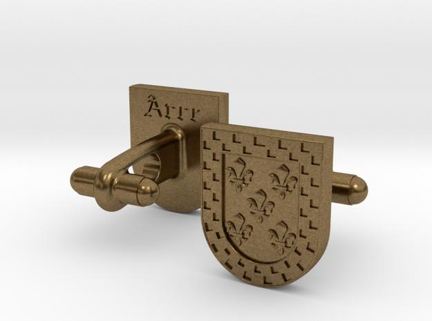 Heraldic Cufflinks (Arce) 3d printed