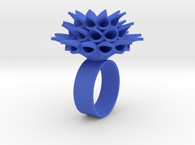 Little Bloom Ring 3d printed